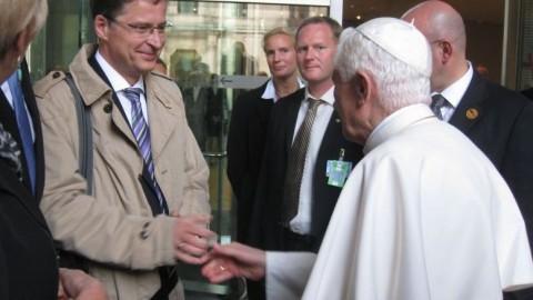 Papst Benedikt XVI. spricht im Deutschen Bundestag