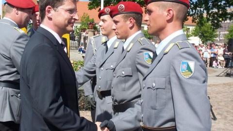 Uckermärker sind stolz auf ihren Bundeswehrstandort