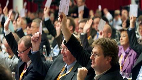 Landesparteitag der CDU Brandenburg
