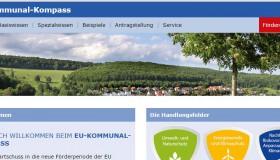 EU-Kommunal-Kompass hilft/ Förder-Tipps für Städte und Gemeinden